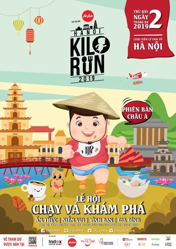 Chạy và khám phá ẩm thực – Lễ hội quốc tế KILORUN sẽ đến Việt Nam - Ảnh 1.