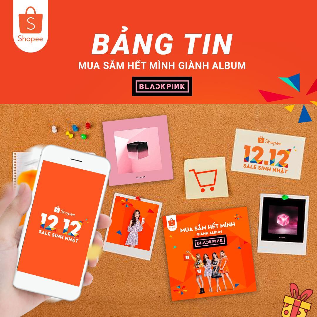 Hot: Fan BLACKPINK Việt Nam sẽ có cơ hội nhận lighstick và album SQUARE UP với chữ ký của 4 thành viên - Ảnh 2.