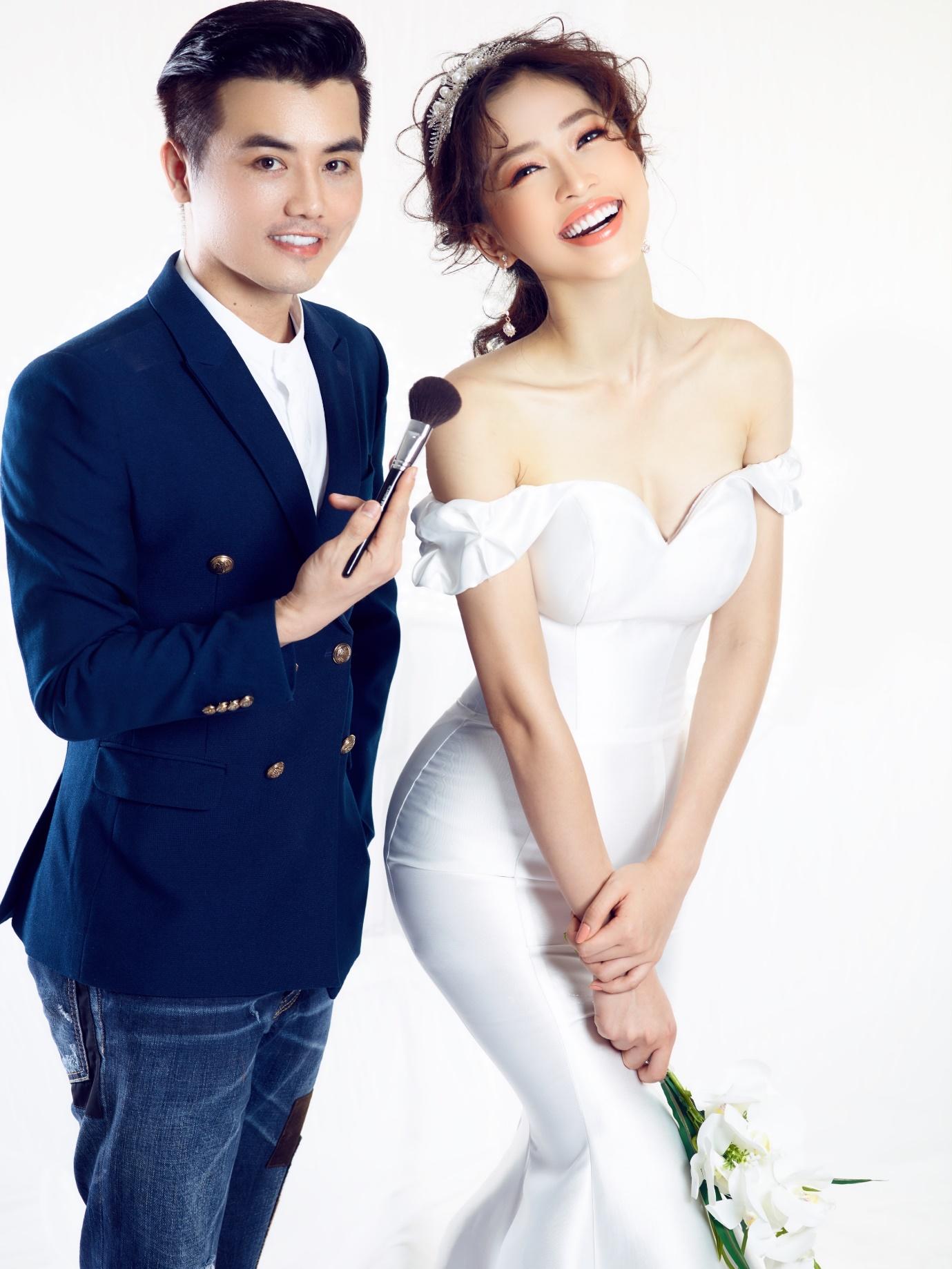 Ngắm Á hậu Bùi Phương Nga đẹp ngẩn ngơ trong BST váy cưới - Ảnh 3.