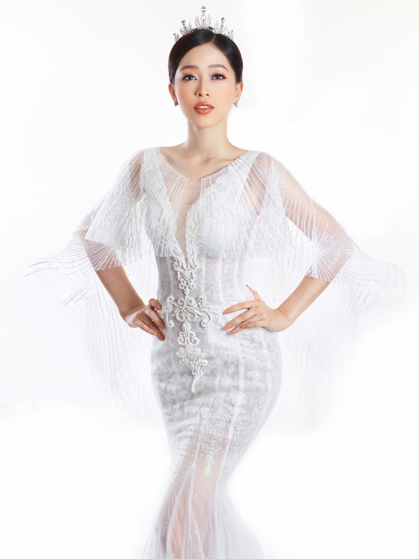 Ngắm Á hậu Bùi Phương Nga đẹp ngẩn ngơ trong BST váy cưới - Ảnh 8.