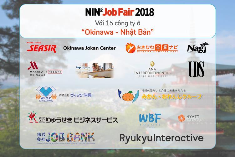 Ngày hội việc làm Nhật Bản NIN2 JOB FAIR 2018 trở lại với hơn 30 doanh nghiệp hàng đầu Nhật Bản - Ảnh 2.