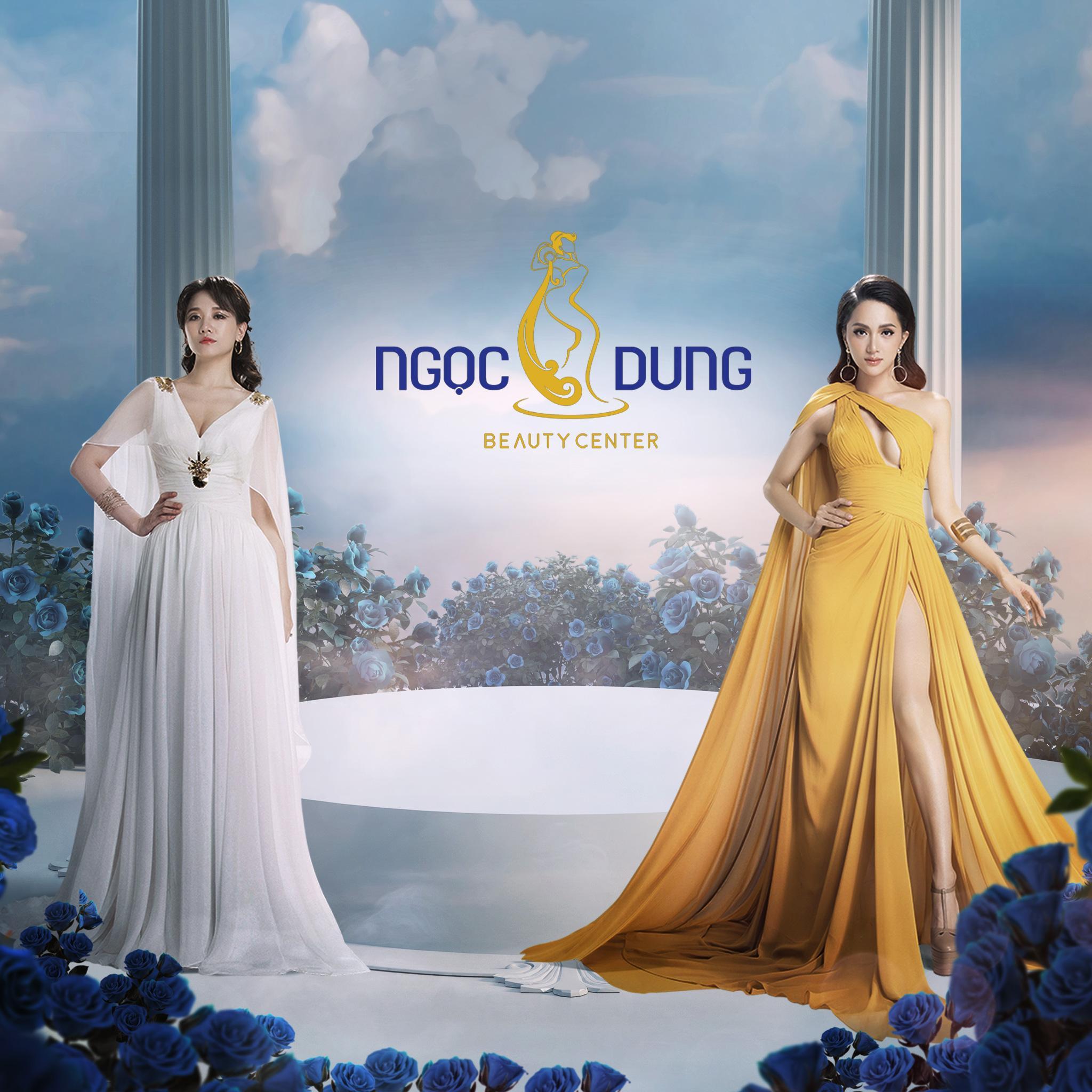 2 mỹ nhân Hương Giang và Hari Won đọ sắc rạng rỡ tựa nữ thần - Ảnh 1.