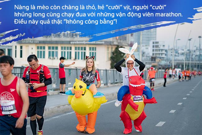 50 sắc thái độc lạ của các runners trên đường chạy marathon - Ảnh 3.