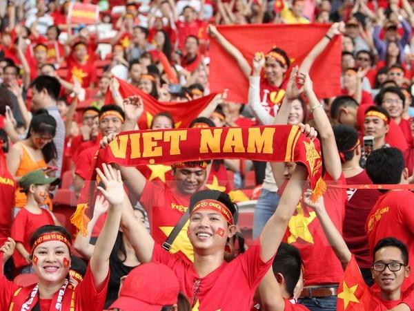Tập đoàn điện tử Việt treo thưởng 300 triệu đồng cho Tuyển Việt Nam trước thềm bán kết lượt về AFF CUP - Ảnh 1.