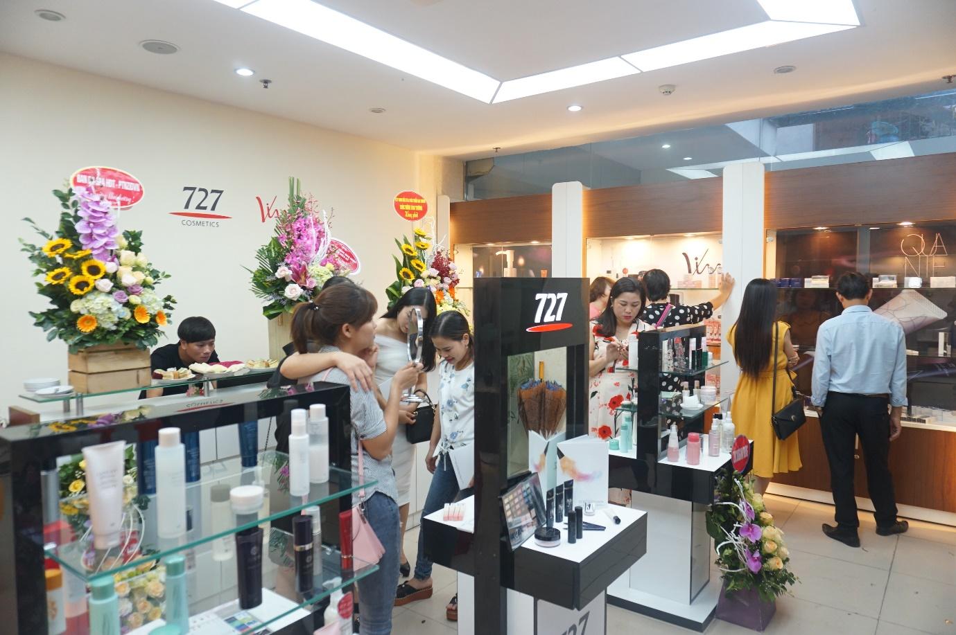 Thương hiệu mỹ phẩm 727 Việt Nam từng bước khẳng định vị thế trong lĩnh vực chăm sóc da - Ảnh 2.