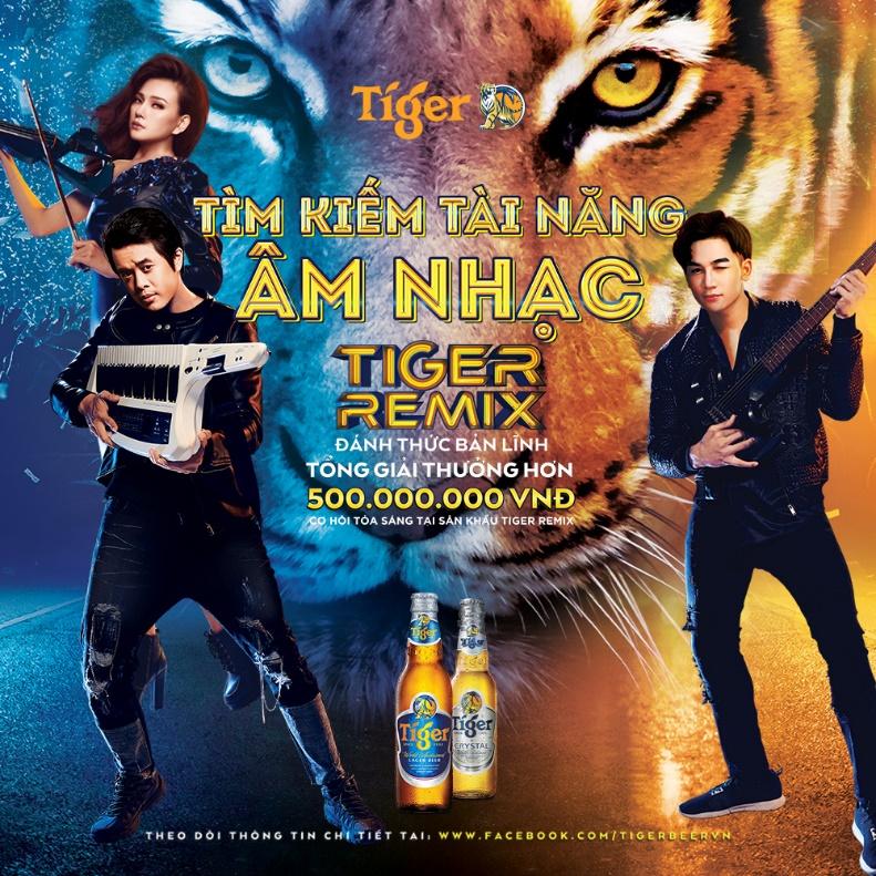 Tìm kiếm tài năng âm nhạc Tiger Remix – Cơ hội đánh thức bản lĩnh sân khấu - Ảnh 1.