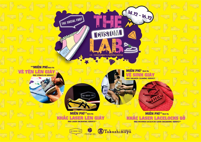 The Custom Lab – Sự kiện về Sneaker Customize trở lại với các Sneakerhead Sài Gòn - Ảnh 2.