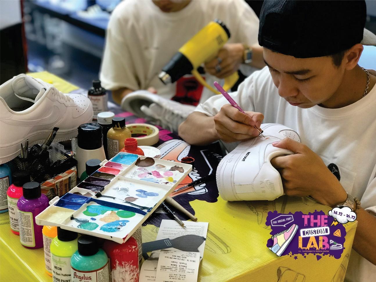The Custom Lab – Sự kiện về Sneaker Customize trở lại với các Sneakerhead Sài Gòn - Ảnh 8.