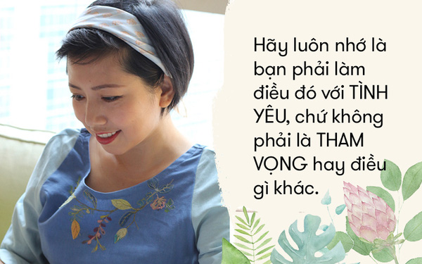 """""""Nữ hoàng mùi hương"""" Huỳnh Hải Yến: Giấu đi đam mê của mình là khóa lại cánh cửa hạnh phúc rồi!"""