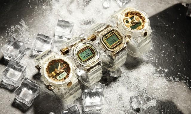 Mở bán đồng hồ G-Shock Limited Glacier Gold tại Việt Nam - Ảnh 1.