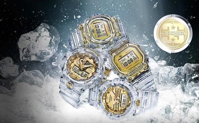 Mở bán đồng hồ G-Shock Limited Glacier Gold tại Việt Nam - Ảnh 2.