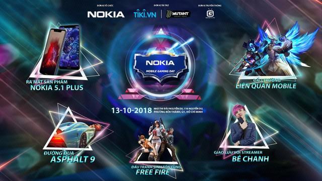 Nokia Mobile Gaming Day – Đấu trường game hấp dẫn nhất chuẩn bị bùng nổ - Ảnh 1.