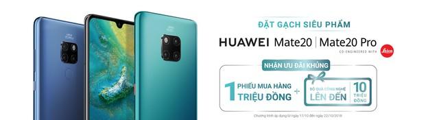 Chiêm ngưỡng tân binh Huawei Mate 20 Pro không chỉ đẹp mà còn mạnh mẽ - Ảnh 8.