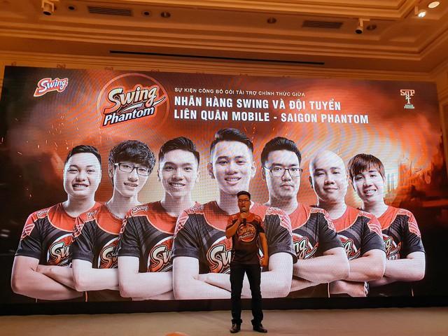 Saigon Phantom - Nhà vô địch Đấu Trường Danh Vọng mùa xuân 2018 chính thức đổi tên mới Swing Phantom - ảnh 3