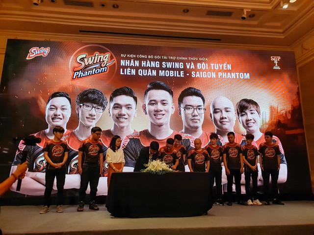 Saigon Phantom - Nhà vô địch Đấu Trường Danh Vọng mùa xuân 2018 chính thức đổi tên mới Swing Phantom - Ảnh 4.