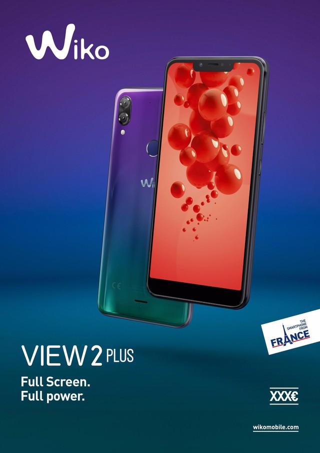 """WIKO ra mắt VIEW 2 PLUS dành cho người dùng trẻ với giá """"sốc"""" - Ảnh 1."""