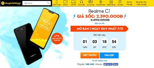 Chưa đầy 2 tháng, Realme đã hoàn tất nền móng vững chắc tại thị trường Việt Nam - Ảnh 1.