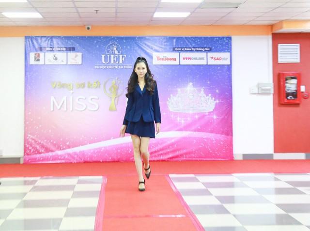 Giải vàng siêu mẫu 2018 – Quỳnh Hoa bất ngờ ngồi ghế giám khảo Sơ kết Miss UEF 2019 - Ảnh 3.
