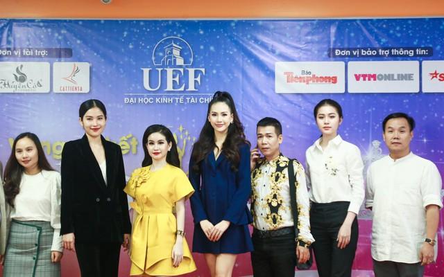 Giải vàng siêu mẫu 2018 – Quỳnh Hoa bất ngờ ngồi ghế giám khảo Sơ kết Miss UEF 2019 - Ảnh 4.