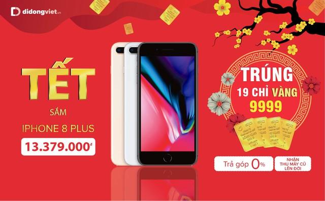 Mua iPhone 7 Plus, 8 Plus, X và Xs Max trúng 19 chỉ vàng 9999 tại Di Động Việt - Ảnh 3.