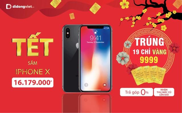 Mua iPhone 7 Plus, 8 Plus, X và Xs Max trúng 19 chỉ vàng 9999 tại Di Động Việt - Ảnh 4.