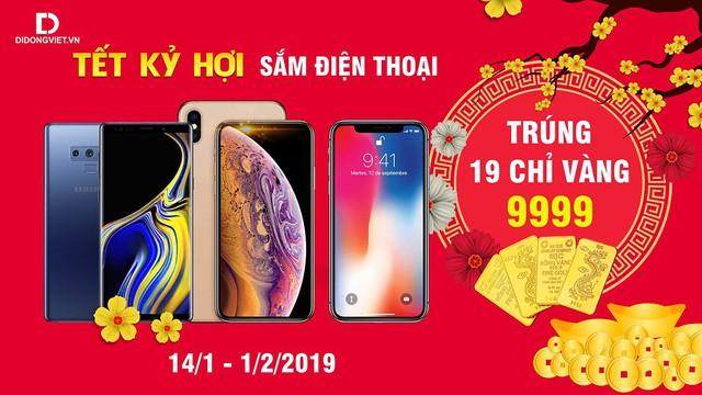 Tết Samsung chọn mua Galaxy S8 Plus, Note 8 và Galaxy Note 9 Trúng 19 chỉ vàng tại Di Động Việt - Ảnh 1.