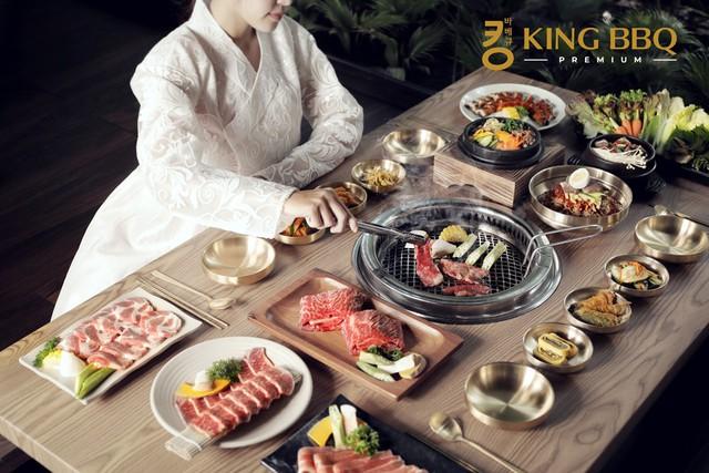 King BBQ Premium – Nhà hàng nướng cung đình Hàn Quốc cao cấp hàng đầu Việt Nam - Ảnh 1.