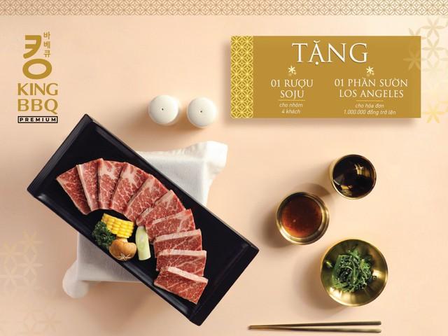 King BBQ Premium – Nhà hàng nướng cung đình Hàn Quốc cao cấp hàng đầu Việt Nam - Ảnh 4.