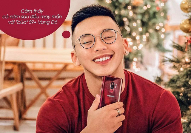 Mua một được ba với Galaxy S9+ Vang Đỏ: smartphone kiêm phụ kiện thời trang kiêm bùa may đỏ cả năm - Ảnh 5.