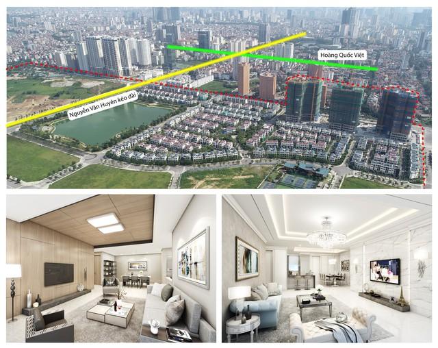"""Đường 8 làn tạm thông: Kết nối vùng hanh thông, bất động sản """"khởi sắc"""" - Ảnh 2."""