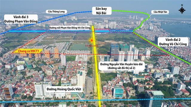"""Đường 8 làn tạm thông: Kết nối vùng hanh thông, bất động sản """"khởi sắc"""" - Ảnh 1."""