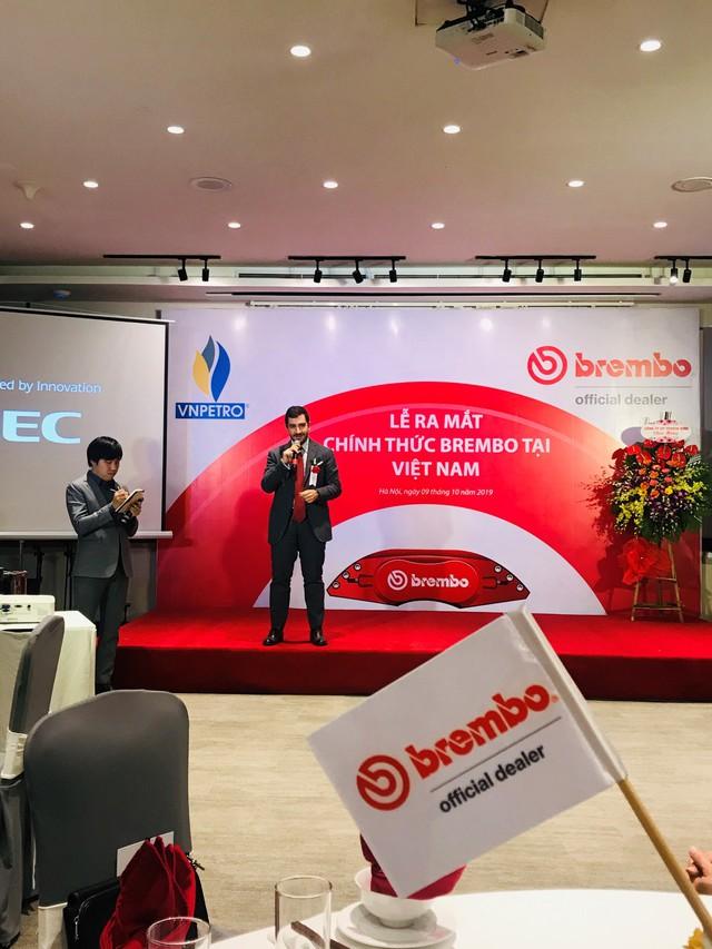 Nhãn hiệu phanh BREMBO lừng danh F1 có mặt tại Việt Nam - Ảnh 1.