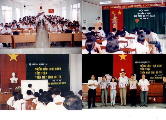 Chủ tịch HĐQT BITEX - Nguyễn Xuân Dũng: Doanh nhân 25 năm truyền cảm hứng yêu toán qua chiếc máy tính casio - Ảnh 2.