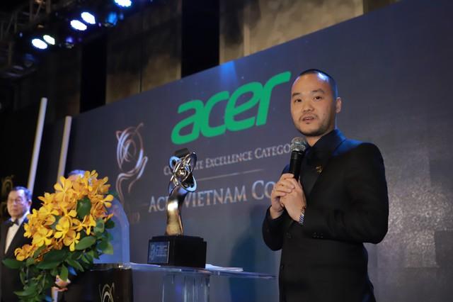 Acer Việt Nam nhận giải thưởng doanh nghiệp xuất sắc châu Á – Thái Bình Dương năm 2019 - Ảnh 1.