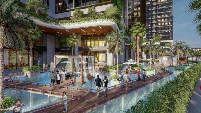 """Khám phá phong cách sống """"resort"""" tại Sunshine City Sài Gòn - Ảnh 2."""