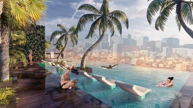 """Khám phá phong cách sống """"resort"""" tại Sunshine City Sài Gòn - Ảnh 4."""