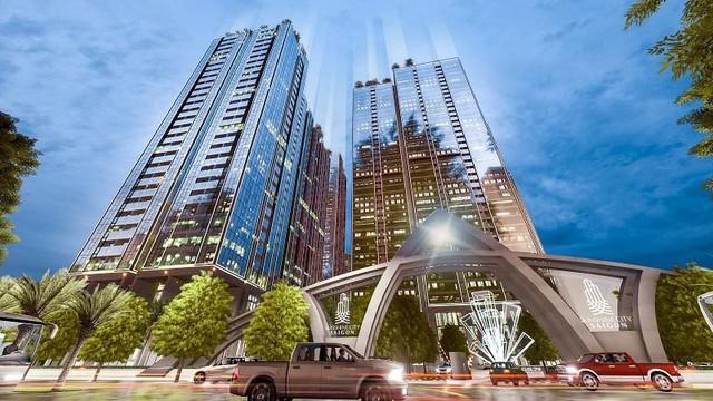 Sunshine City Sài Gòn giới thiệu không gian sống với kính Low - e cao cấp - Ảnh 1.