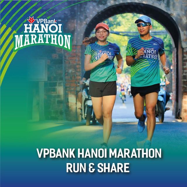"""""""VPBank Hanoi Marathon– Run & Share""""  nâng bước em tới trường - Ảnh 1."""