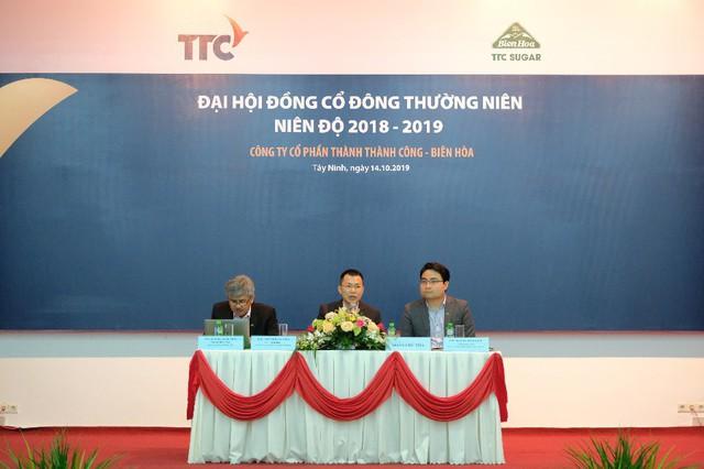 Đại hội đồng cổ đông thường niên niên độ 2018 - 2019 TTC Sugar tiếp tục phát triển bền vững cùng ngành đường Việt Nam - Ảnh 1.