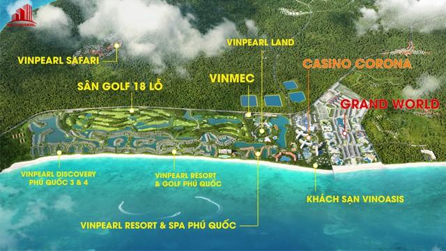 Grand World Phú Quốc: Một bước chạm thiên đường giải trí - Ảnh 1.