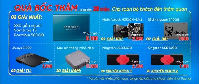 An Phát Computer khuyến mãi tưng bừng khai trương 2 showroom mới tại Hà Nội và TP Hồ Chí Minh - Ảnh 3.