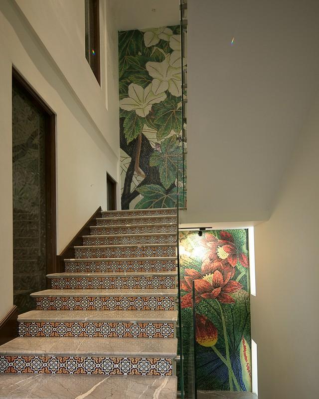 Nhà gốm Quang Minh - công trình nhà ghép gốm Mosaic đạt kỷ lục lớn nhất Việt Nam - Ảnh 3.