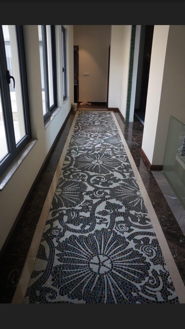 Nhà gốm Quang Minh - công trình nhà ghép gốm Mosaic đạt kỷ lục lớn nhất Việt Nam - Ảnh 4.