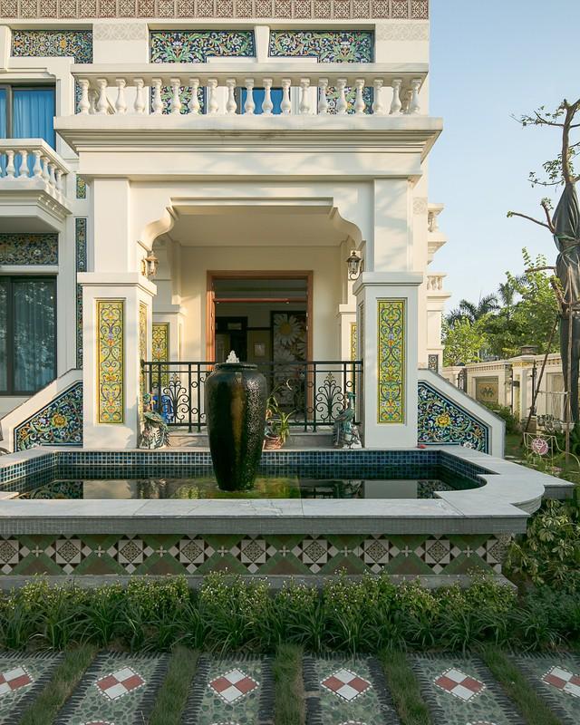 Nhà gốm Quang Minh - công trình nhà ghép gốm Mosaic đạt kỷ lục lớn nhất Việt Nam - Ảnh 8.