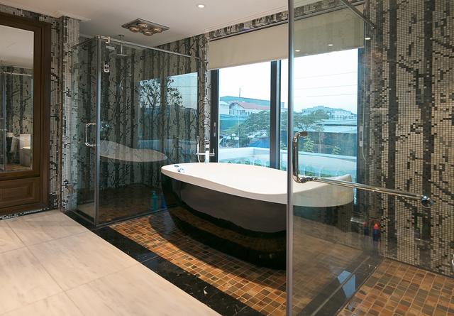 Nhà gốm Quang Minh - công trình nhà ghép gốm Mosaic đạt kỷ lục lớn nhất Việt Nam - Ảnh 6.