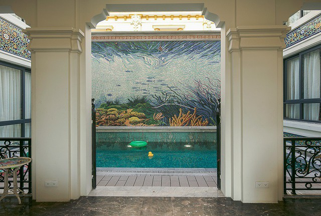 Nhà gốm Quang Minh - công trình nhà ghép gốm Mosaic đạt kỷ lục lớn nhất Việt Nam - Ảnh 7.