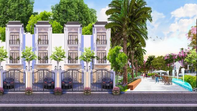 Đất nền hạ nhiệt, người mua tìm nhà phố hoàn thiện ở Bình Dương - Ảnh 1.