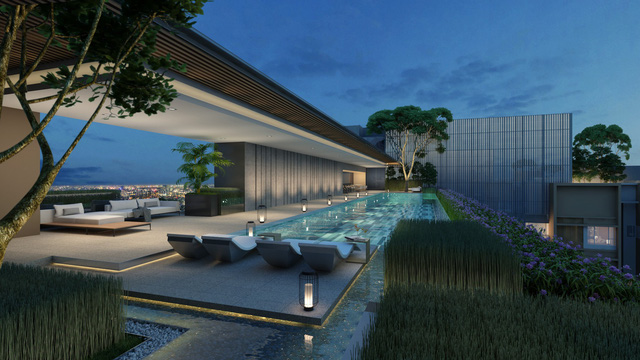 Ấn tượng khu tiện ích sang trọng The Sky Club tại dự án The Marq - Ảnh 2.