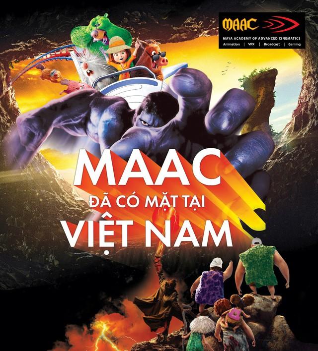 Học viện MAAC sắp ra mắt tại Việt Nam – Lựa chọn mới cho các bạn trẻ đam mê VFX và 3D Animation - Ảnh 1.