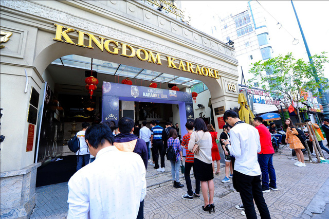 "Vòng Audition 1 cuộc thi ""Kingdom Karaoke Idol"" - Ảnh 1."